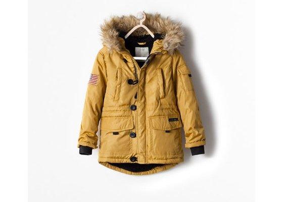 zara kurtka zimowa dziecięca